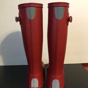 Red Hunter Boots (Big Kids)